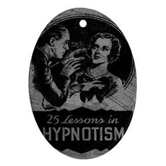 Vintage Hypnotism Ornament (Oval)