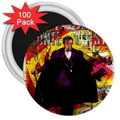 Monte Cristo 3  Magnets (100 pack)