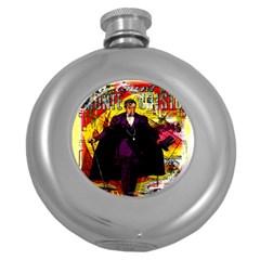 Monte Cristo Round Hip Flask (5 oz)