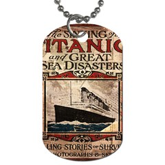Titanic Dog Tag (Two Sides)