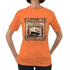 Titanic Women s Dark T-Shirt
