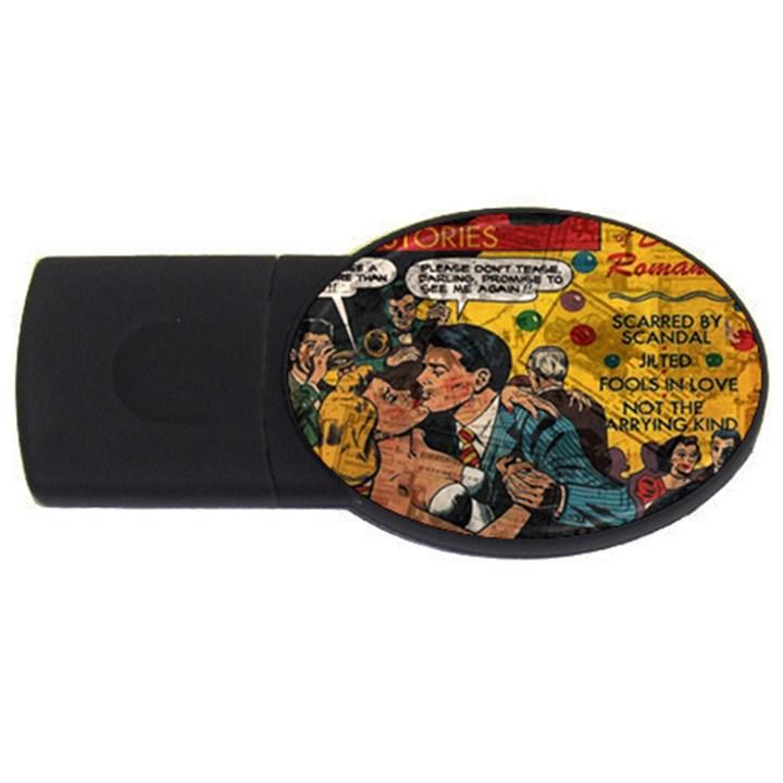 Love stories USB Flash Drive Oval (2 GB)