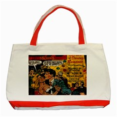 Love stories Classic Tote Bag (Red)