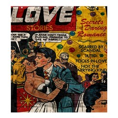 Love stories Shower Curtain 66  x 72  (Large)
