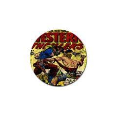 Western Thrillers Golf Ball Marker (4 pack)