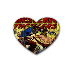 Western Thrillers Heart Coaster (4 pack)