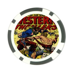 Western Thrillers Poker Chip Card Guard