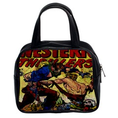 Western Thrillers Classic Handbags (2 Sides)