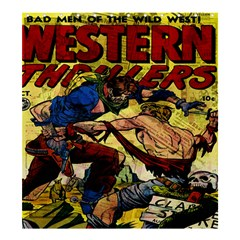Western Thrillers Shower Curtain 66  x 72  (Large)
