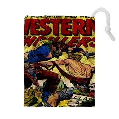Western Thrillers Drawstring Pouches (Extra Large)