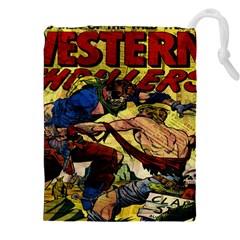 Western Thrillers Drawstring Pouches (XXL)