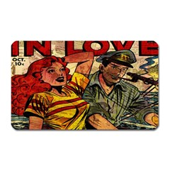 Woman in love Magnet (Rectangular)