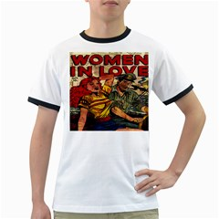 Woman in love Ringer T-Shirts