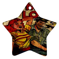Woman in love Star Ornament (Two Sides)