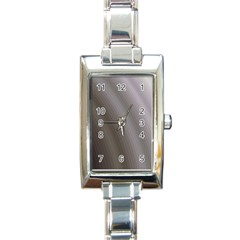 Fractal Background With Grey Ripples Rectangle Italian Charm Watch