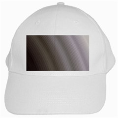 Fractal Background With Grey Ripples White Cap