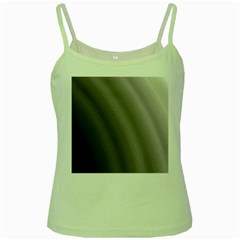 Fractal Background With Grey Ripples Green Spaghetti Tank