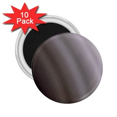 Fractal Background With Grey Ripples 2 25  Magnets (10 Pack)