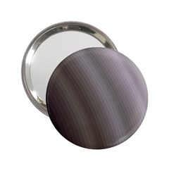 Fractal Background With Grey Ripples 2.25  Handbag Mirrors