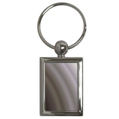 Fractal Background With Grey Ripples Key Chains (rectangle)