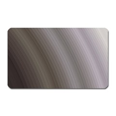 Fractal Background With Grey Ripples Magnet (Rectangular)