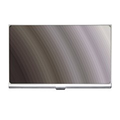 Fractal Background With Grey Ripples Business Card Holders