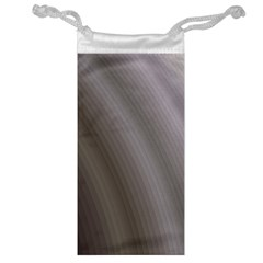 Fractal Background With Grey Ripples Jewelry Bag