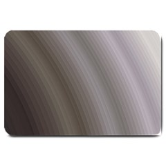 Fractal Background With Grey Ripples Large Doormat
