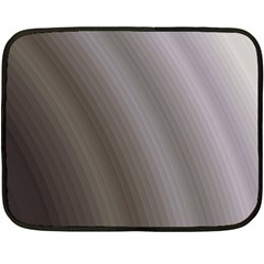 Fractal Background With Grey Ripples Fleece Blanket (mini)
