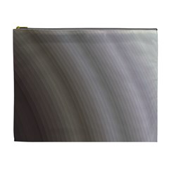 Fractal Background With Grey Ripples Cosmetic Bag (xl)