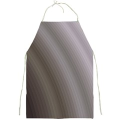 Fractal Background With Grey Ripples Full Print Aprons