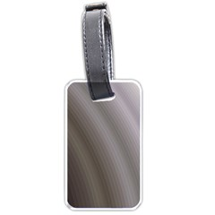 Fractal Background With Grey Ripples Luggage Tags (two Sides)