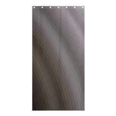 Fractal Background With Grey Ripples Shower Curtain 36  X 72  (stall)