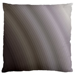 Fractal Background With Grey Ripples Large Cushion Case (Two Sides)