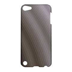 Fractal Background With Grey Ripples Apple iPod Touch 5 Hardshell Case