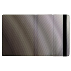 Fractal Background With Grey Ripples Apple iPad 2 Flip Case