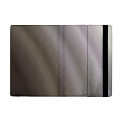 Fractal Background With Grey Ripples Apple iPad Mini Flip Case