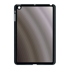 Fractal Background With Grey Ripples Apple Ipad Mini Case (black)
