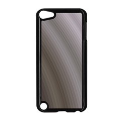 Fractal Background With Grey Ripples Apple iPod Touch 5 Case (Black)