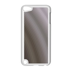 Fractal Background With Grey Ripples Apple iPod Touch 5 Case (White)