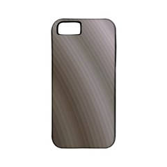 Fractal Background With Grey Ripples Apple iPhone 5 Classic Hardshell Case (PC+Silicone)