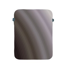 Fractal Background With Grey Ripples Apple iPad 2/3/4 Protective Soft Cases