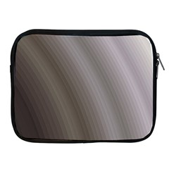 Fractal Background With Grey Ripples Apple iPad 2/3/4 Zipper Cases
