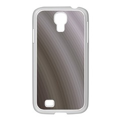 Fractal Background With Grey Ripples Samsung GALAXY S4 I9500/ I9505 Case (White)