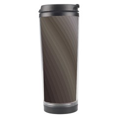 Fractal Background With Grey Ripples Travel Tumbler