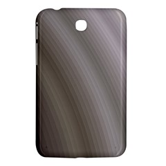 Fractal Background With Grey Ripples Samsung Galaxy Tab 3 (7 ) P3200 Hardshell Case
