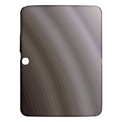 Fractal Background With Grey Ripples Samsung Galaxy Tab 3 (10 1 ) P5200 Hardshell Case