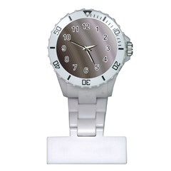 Fractal Background With Grey Ripples Plastic Nurses Watch