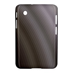 Fractal Background With Grey Ripples Samsung Galaxy Tab 2 (7 ) P3100 Hardshell Case