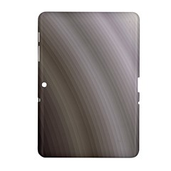 Fractal Background With Grey Ripples Samsung Galaxy Tab 2 (10 1 ) P5100 Hardshell Case